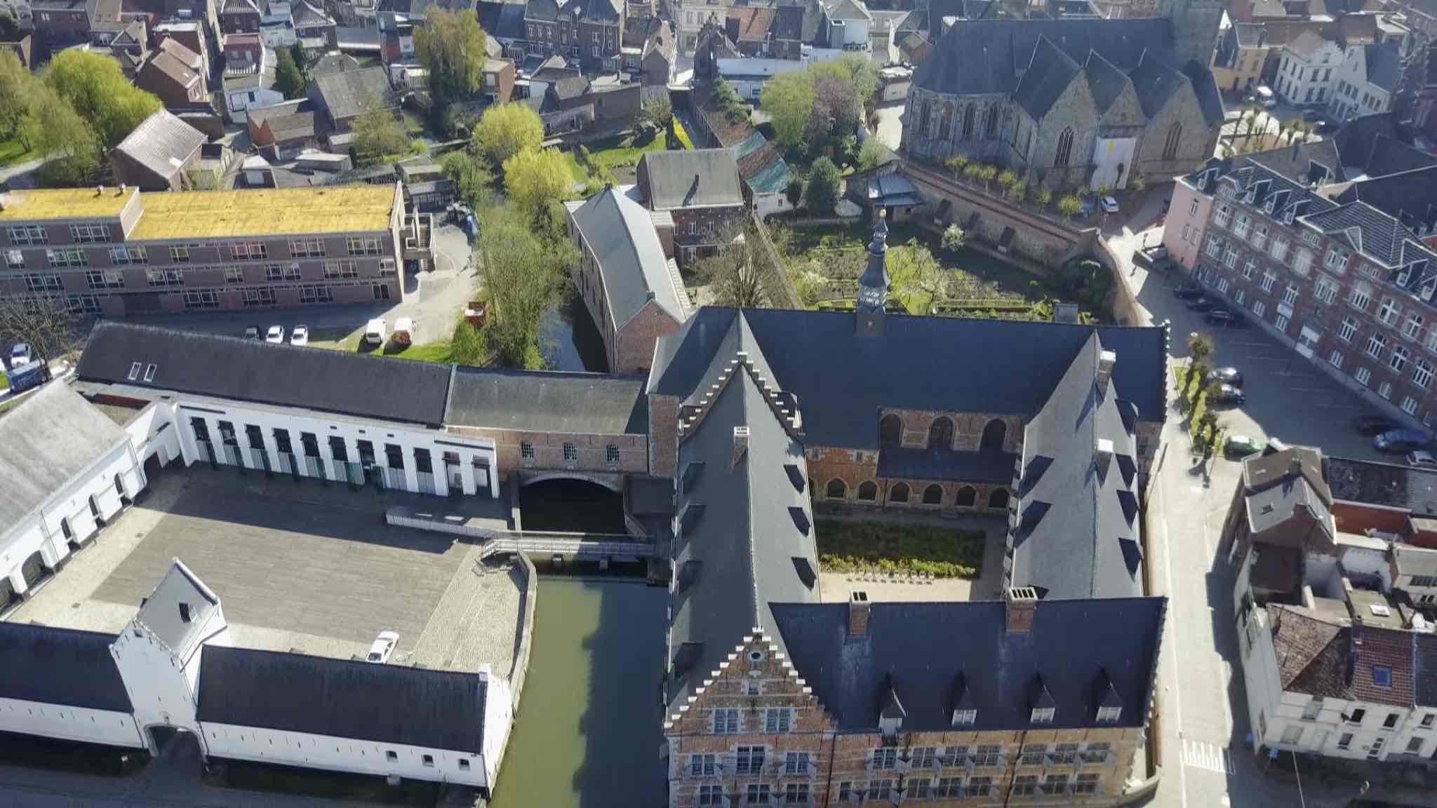 L'hôpital Notre-Dame à la Rose à Lessines