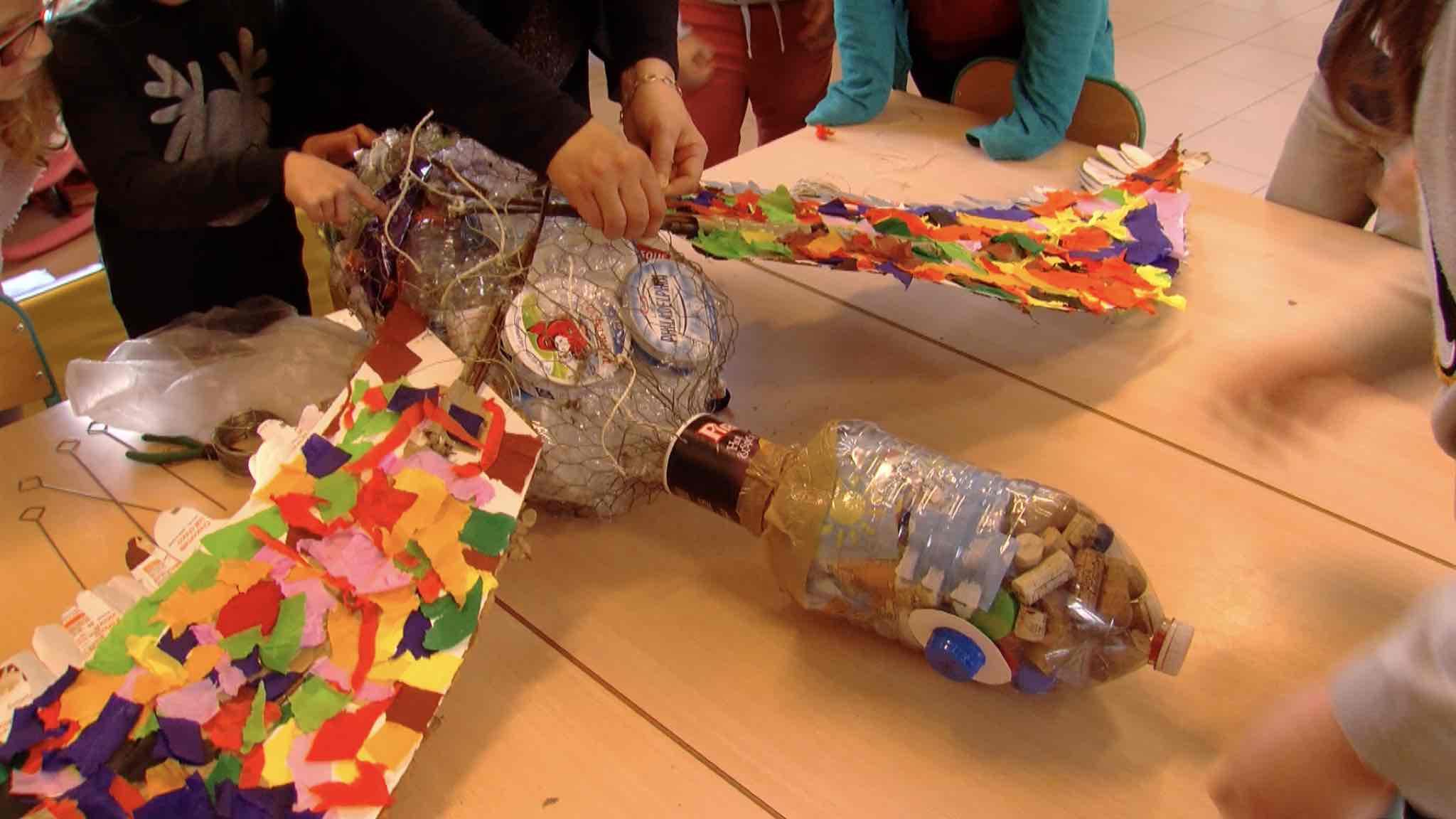 Quinzaine de la nature: des déchets artistiques