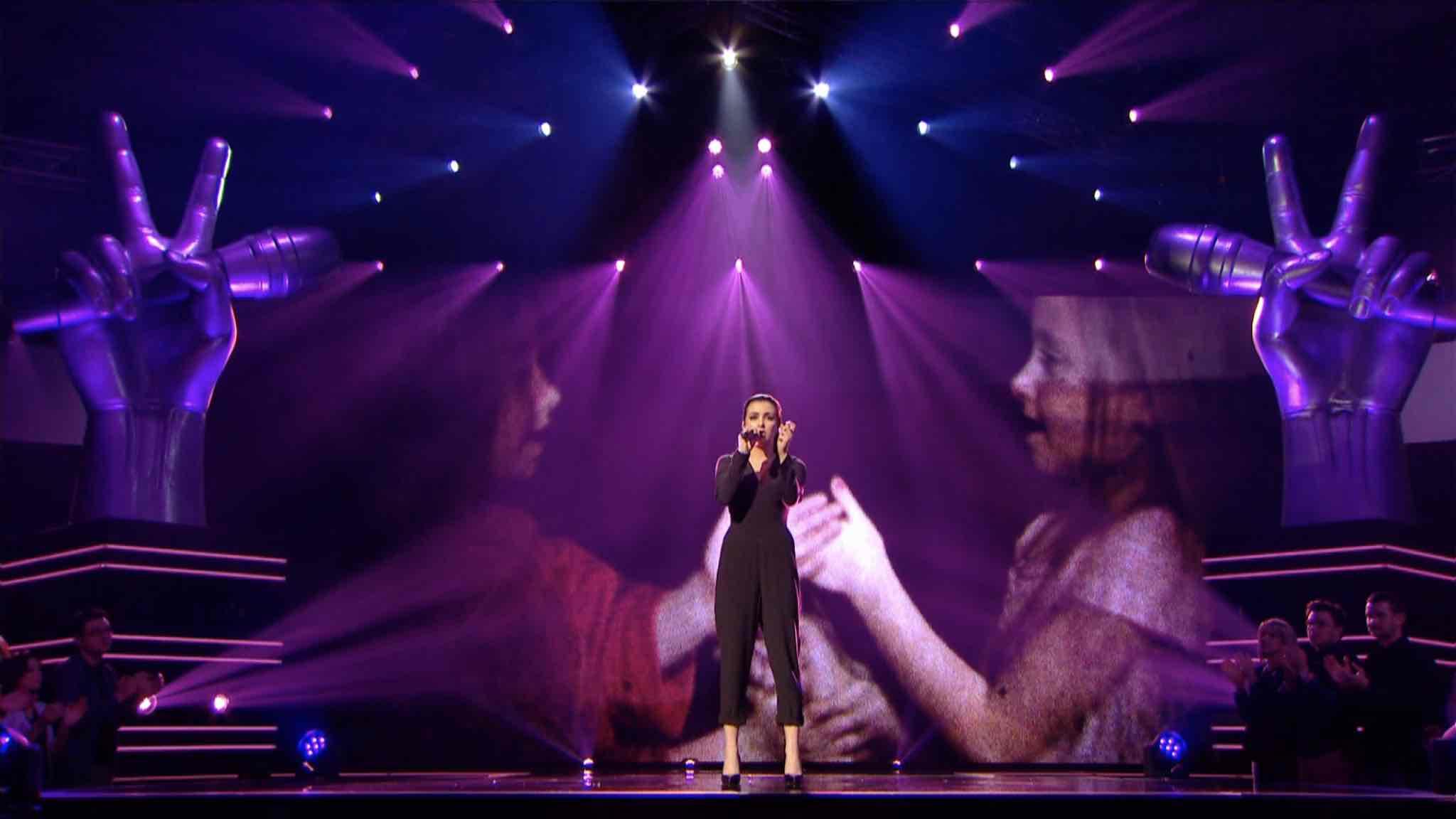 Soraya Slimani, l'Athoise qui a conquis The Voice