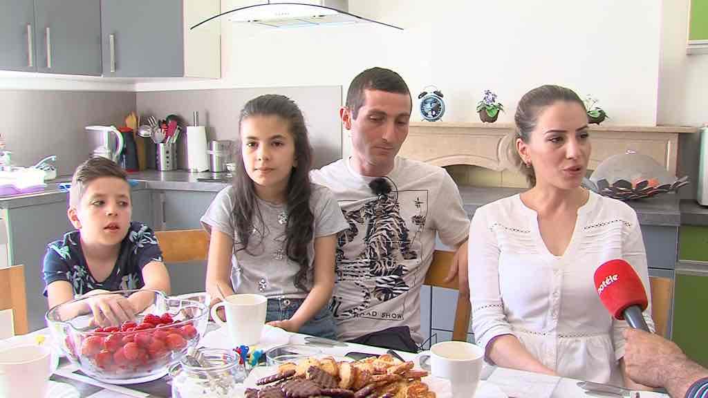 Une famille arménienne menacée d'expulsion à Antoing