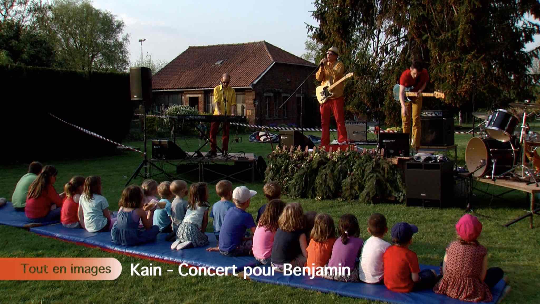Concert pour Benjamin
