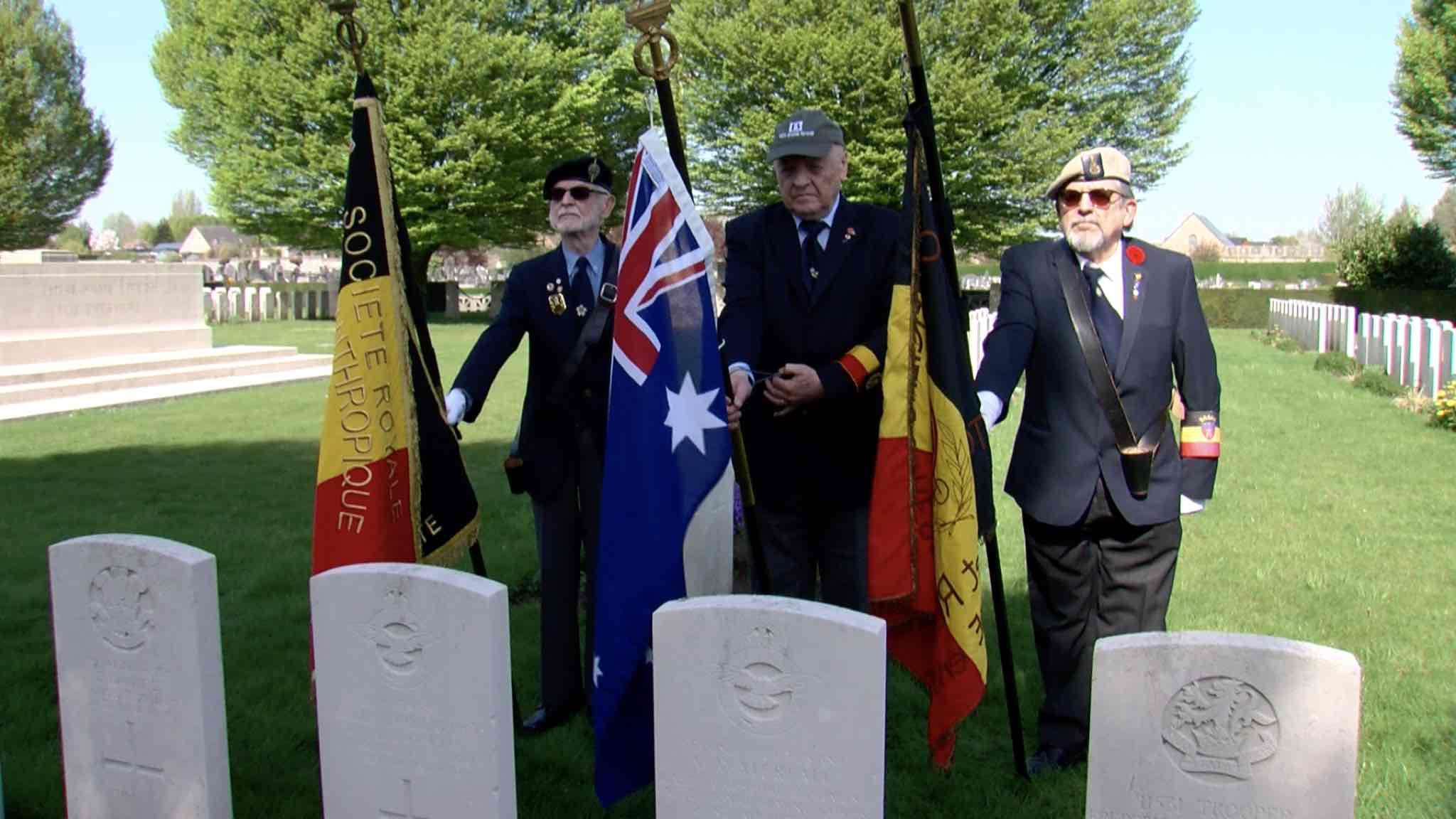 Une famille australienne retrouve son grand-oncle, mort durant la guerre