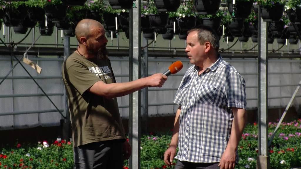 Interview de Pierre Vandevondel, floriculteur à Kain