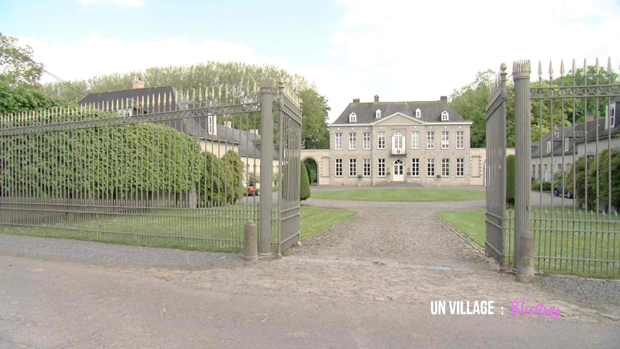 La vie de château sous l'occupation