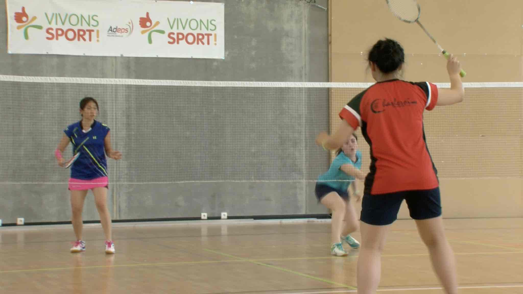 Badminton: Finale de la coupe de la Ligue francophone