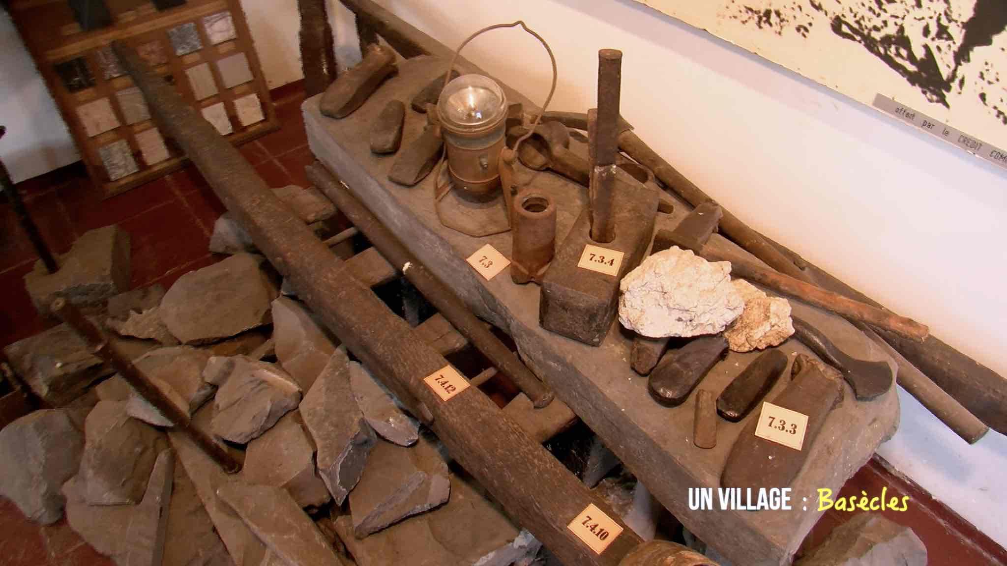 A la découverte des carrières et du marbre noir de Basècles