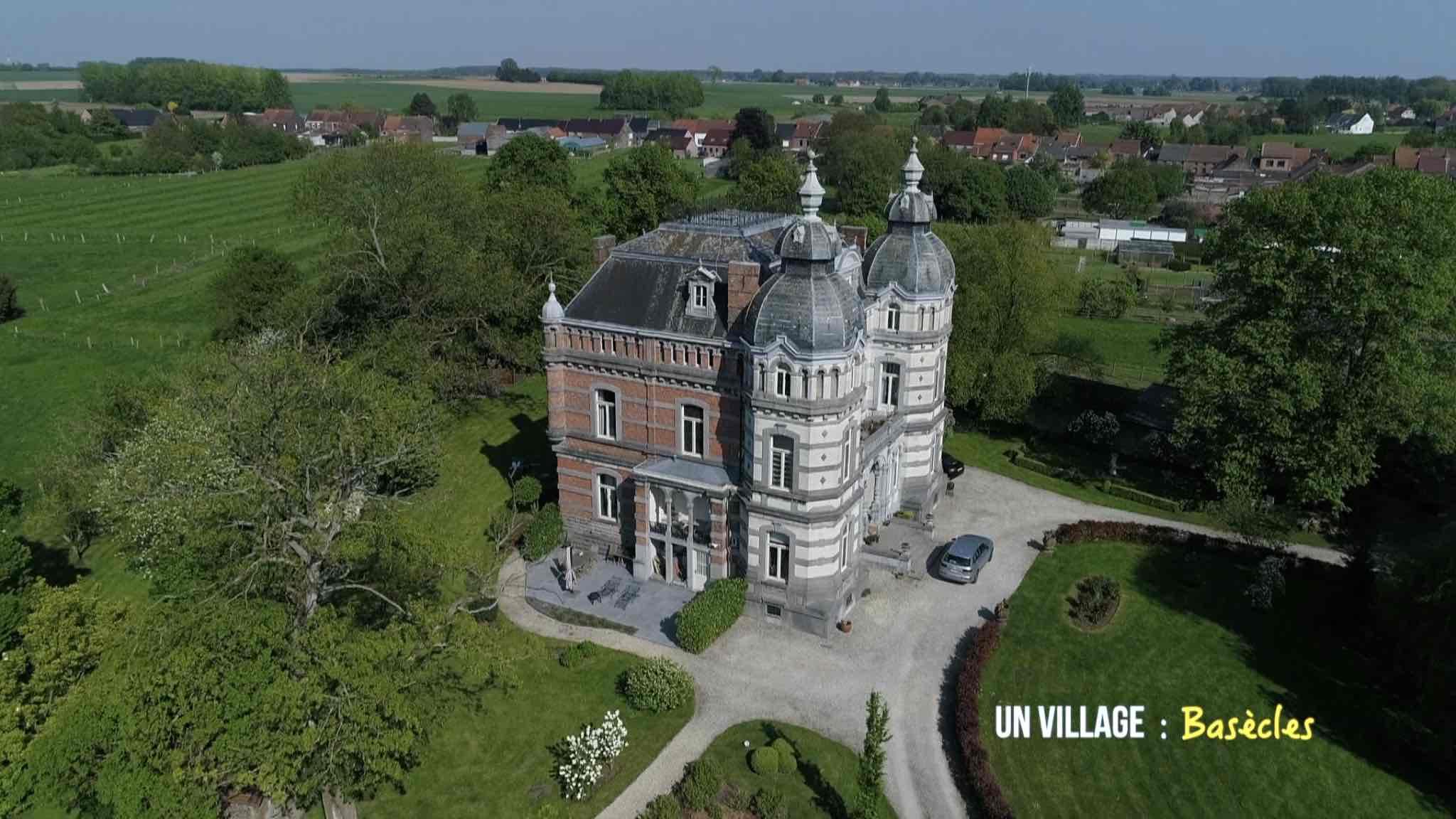Le château Daudergnies et ses voisins alpagas
