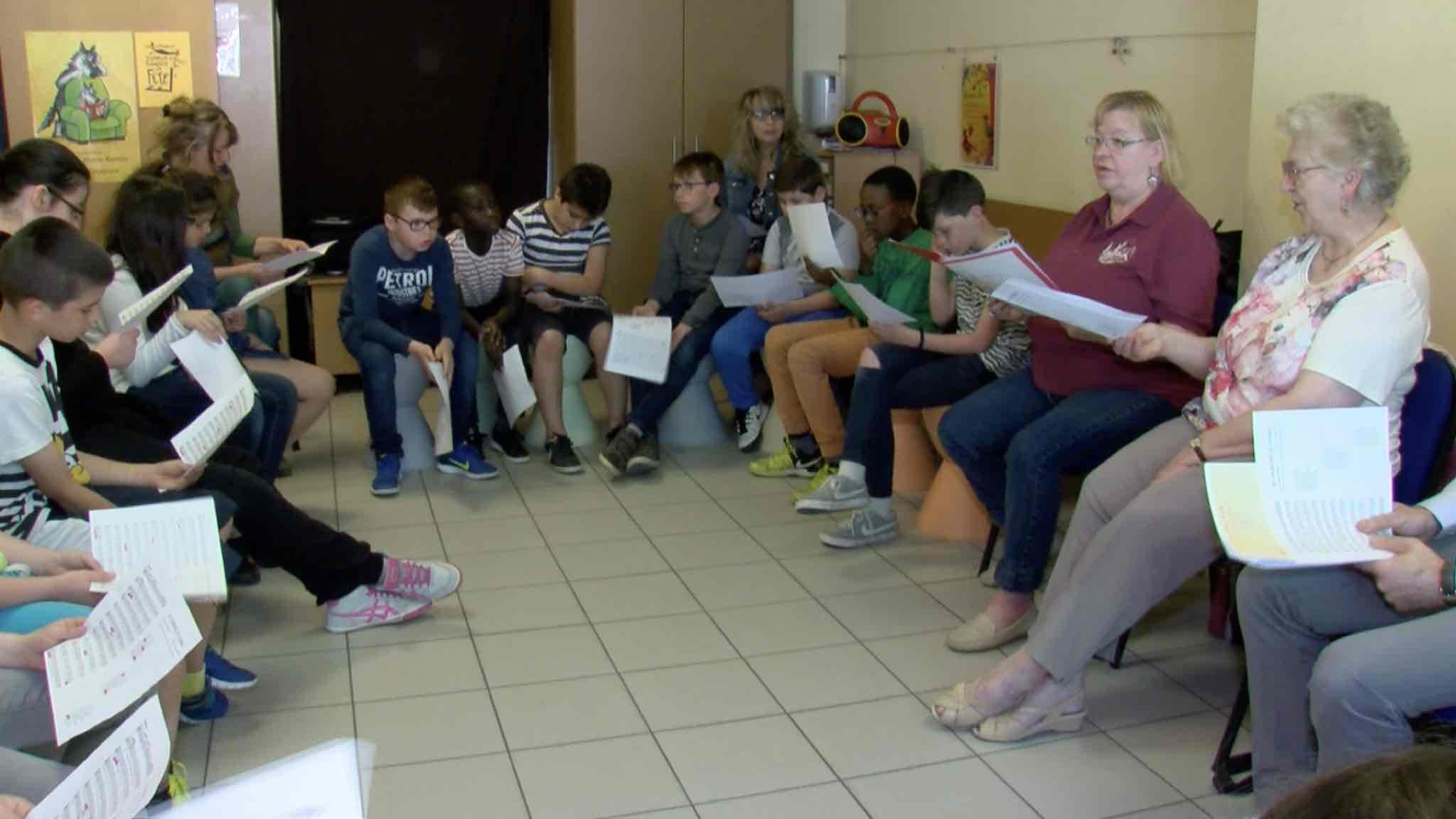 Animation scolaire dans le cadre de la fête aux langues de Wallonie