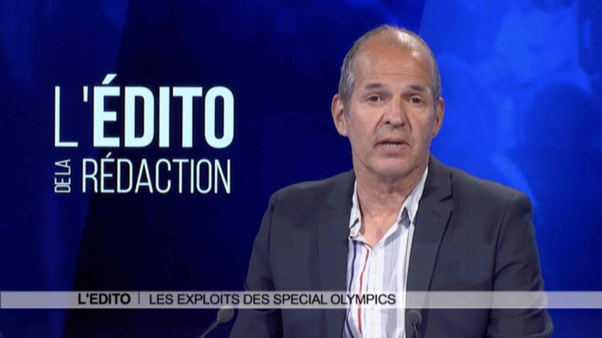 Edito: les exploits des Special Olympics