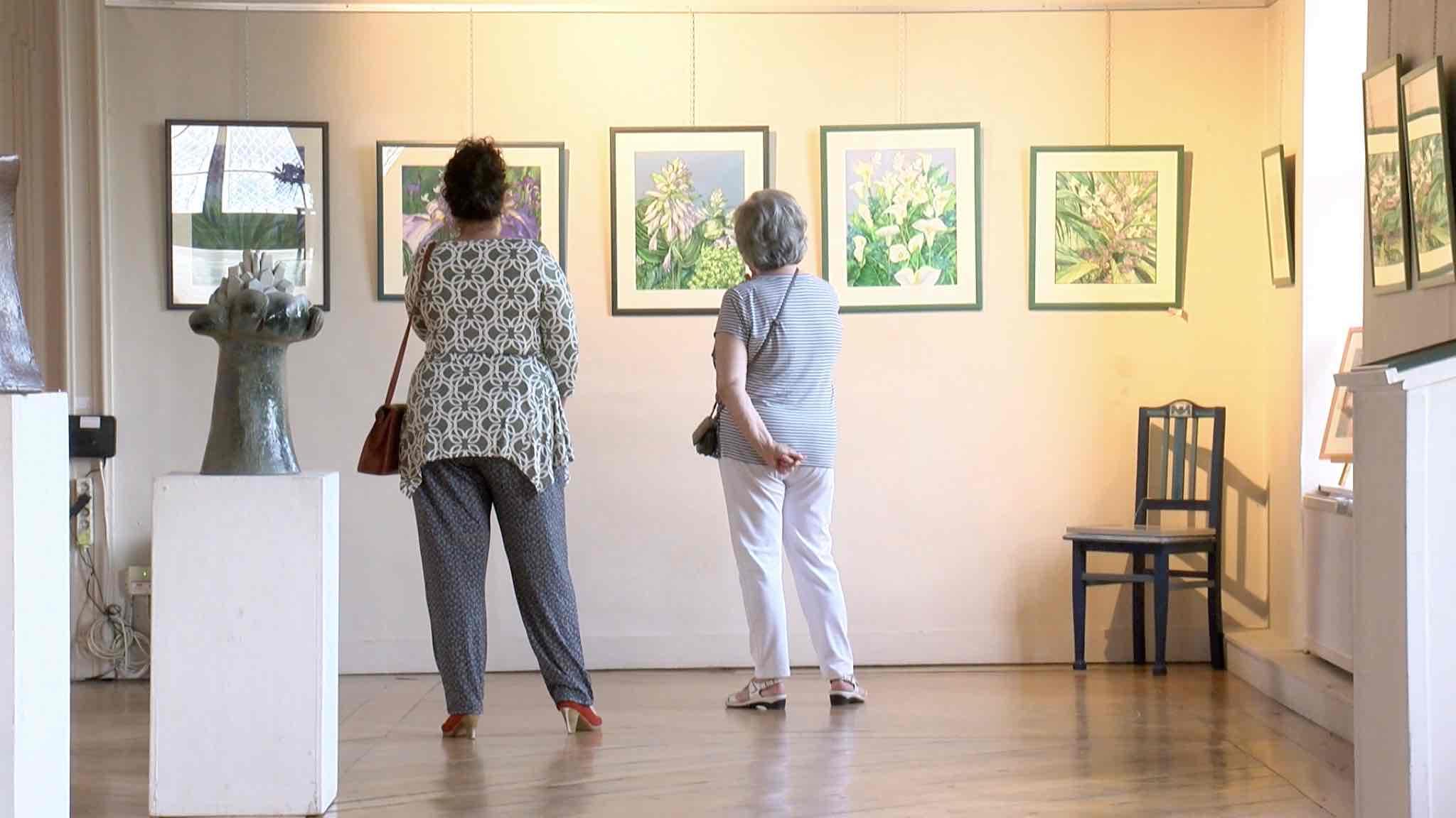 Suzanne Prédour présente 50 ans de créa'zon