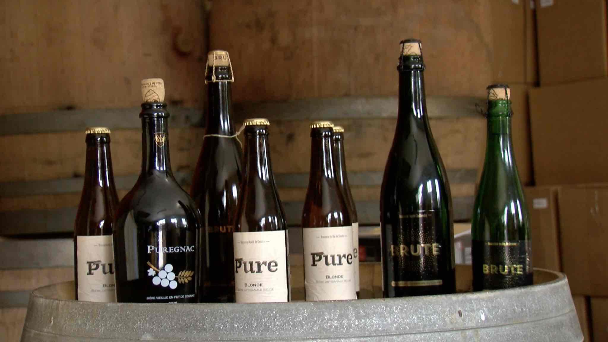 """La brasserie d'Ollignies lance la """"Puregnac"""" une bière aux arômes de cognac"""