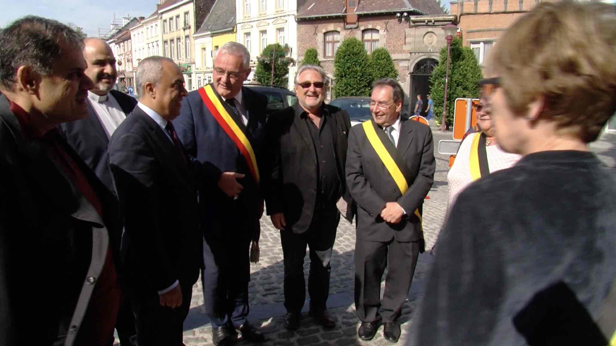 Visite de l'ambassadeur de Palestine au Pays des Collines