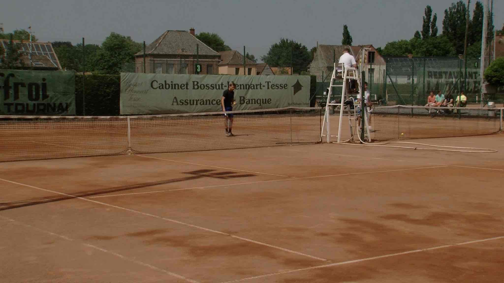 Tennis: Vautour - Genk