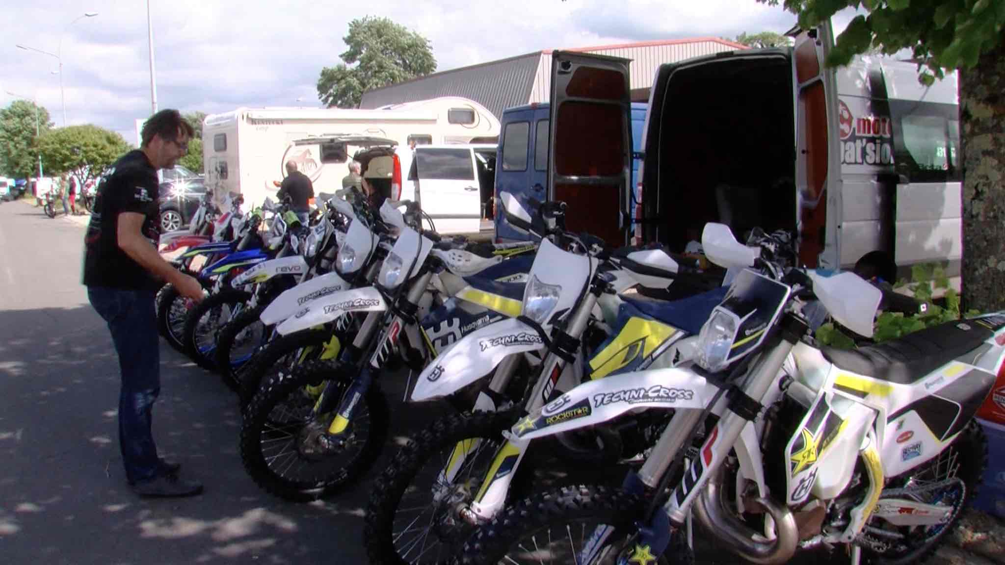Moto : Trois jours à Bergerac avec l'Enduro Club Tournai