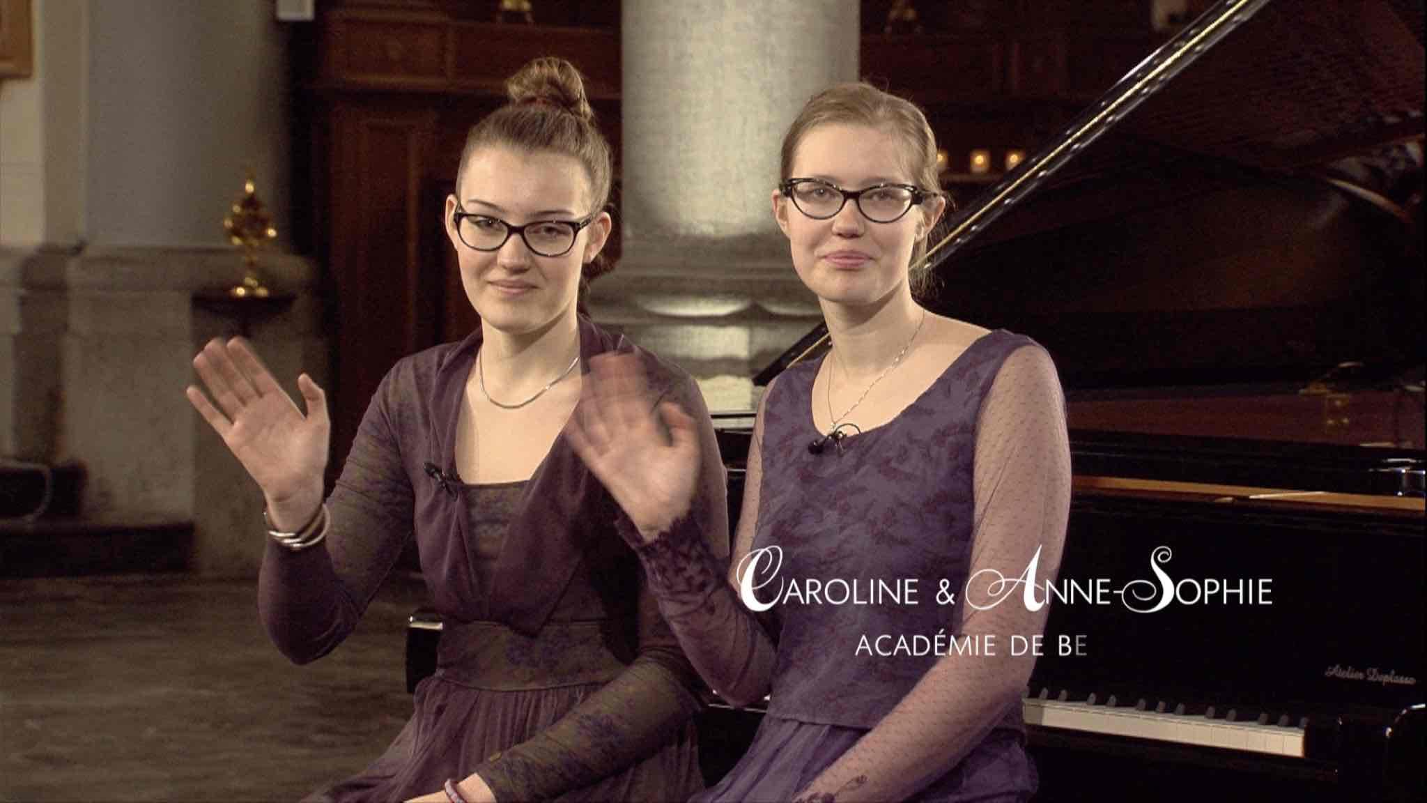 Anne-Sophie et Caroline Glineur