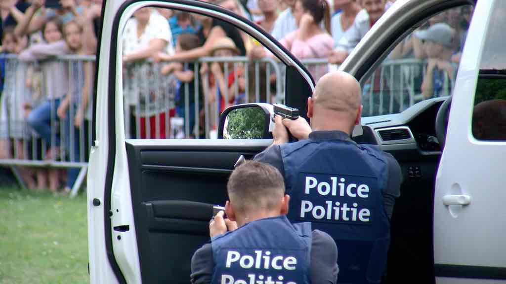 Enorme succès pour le Police Day à Comines
