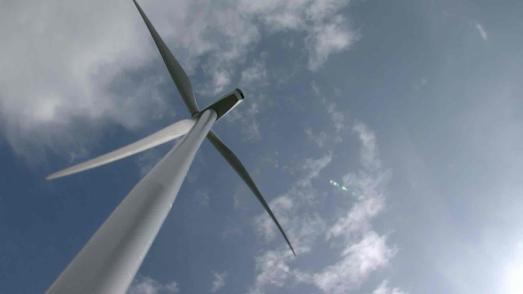Le parc éolien Moulins Saint-Roch inauguré