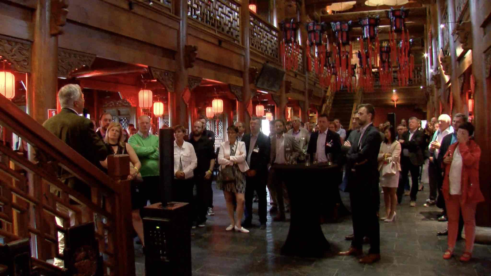 L'UEBA favorise le networking entre entreprises de la région athoise