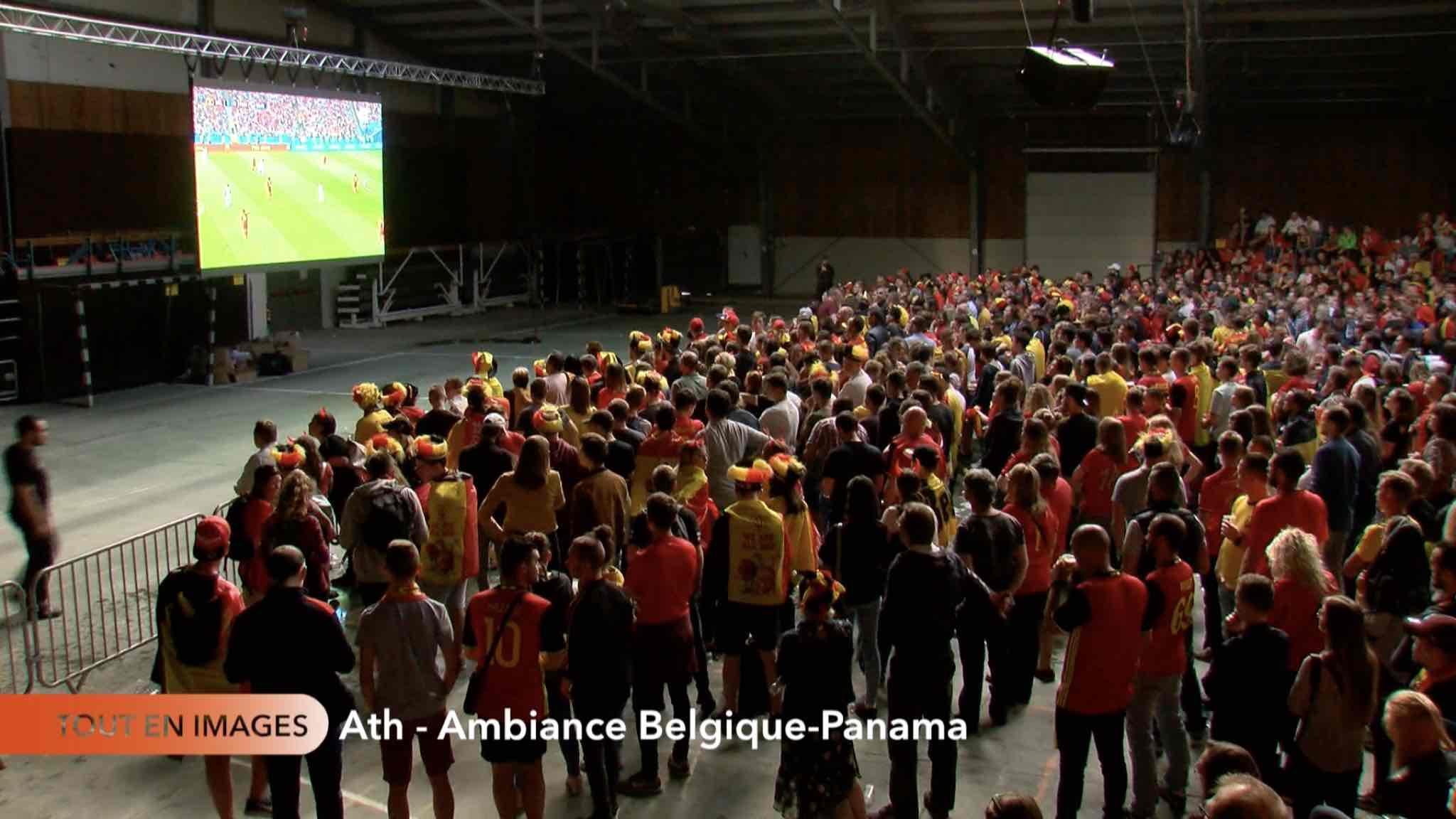 Match Football Belgique-Panama