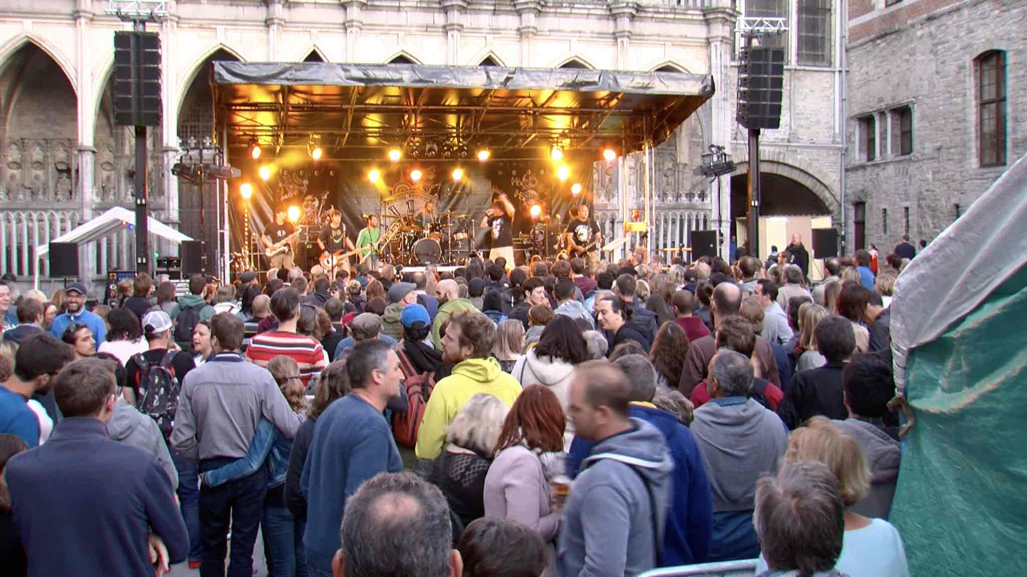 Skarbone 14 ravit le public tournaisien avec son nouvel album