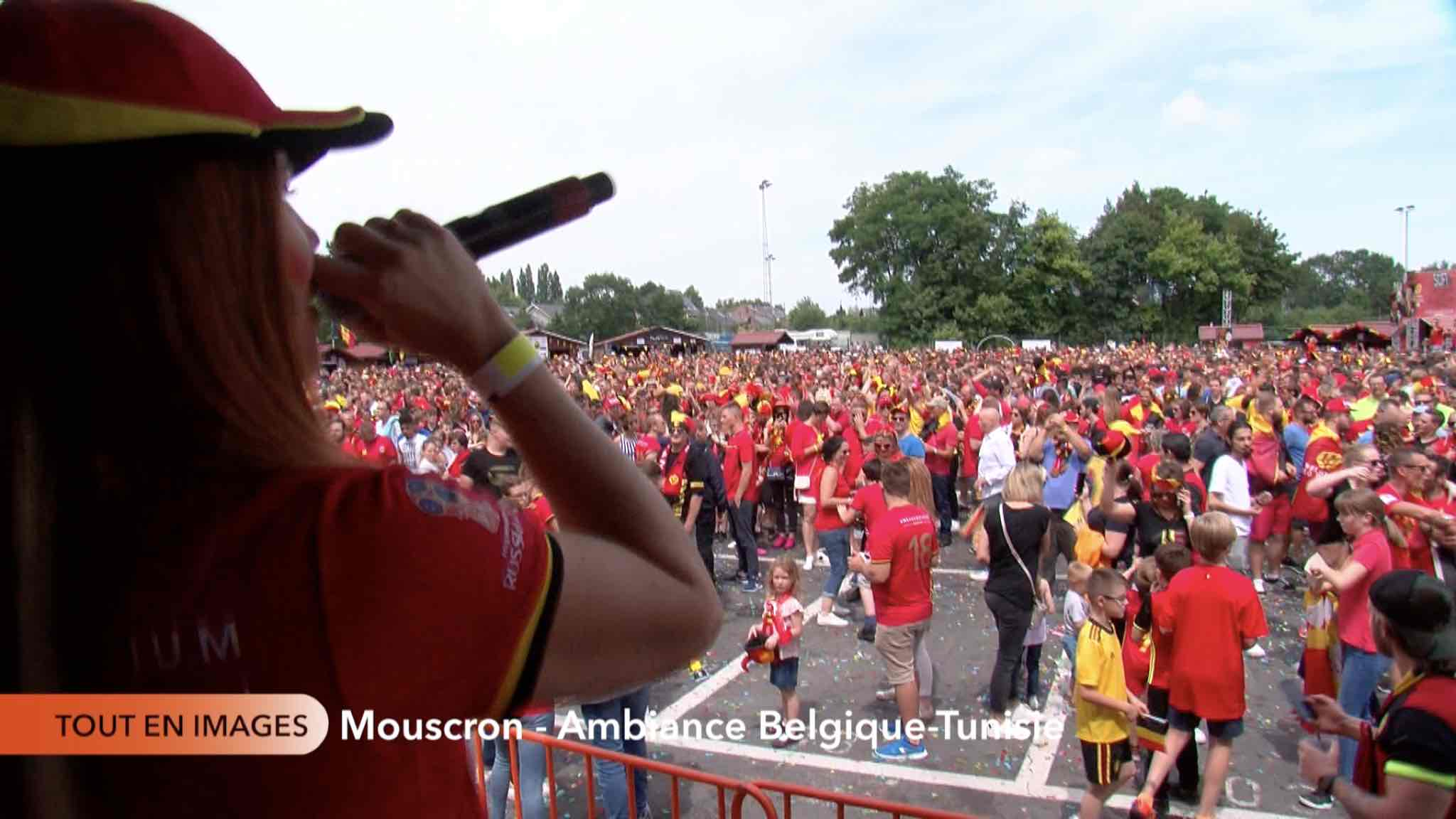 Match Football Belgique-Tunisie