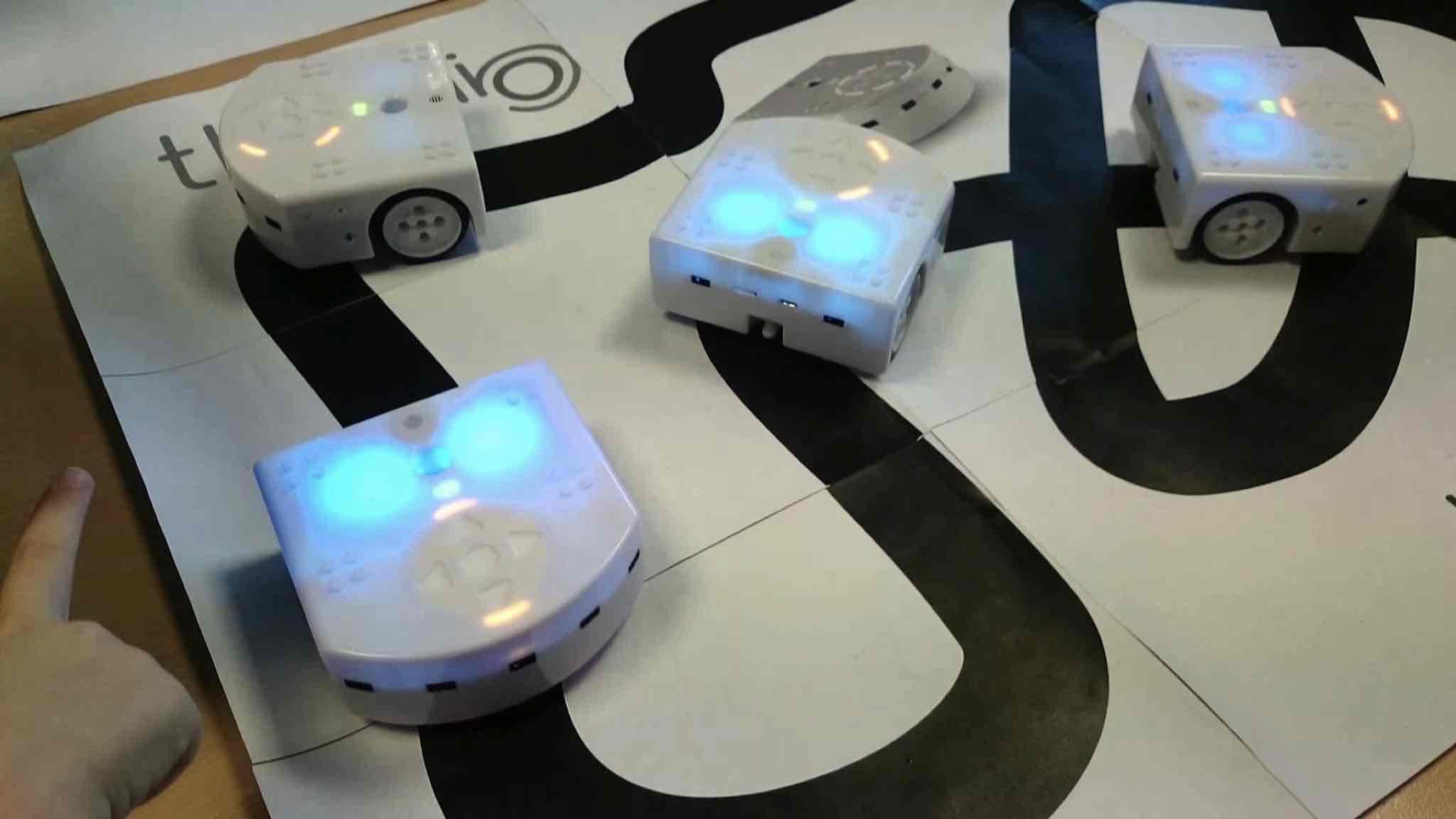 Thymio, un robot pédagogique au service des enfants