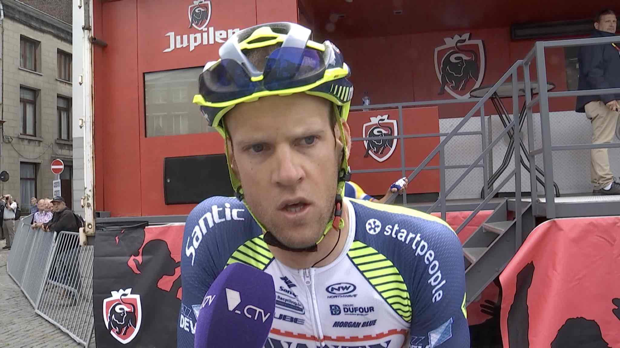 Thomas Degand à l'aube de son second Tour de France