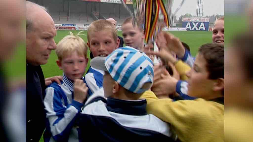 En 2002, Kevin De Bruyne (10 ans) inscrivait un quadruplé au Canonnier
