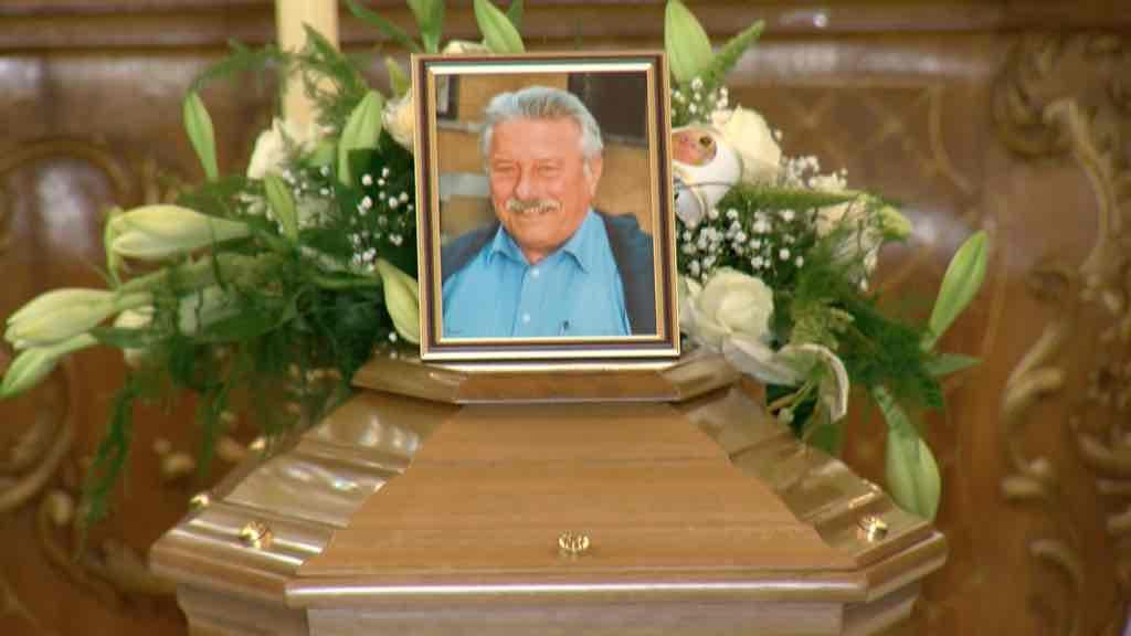 Funérailles de l'ancien bourgmestre, Claude Fortez