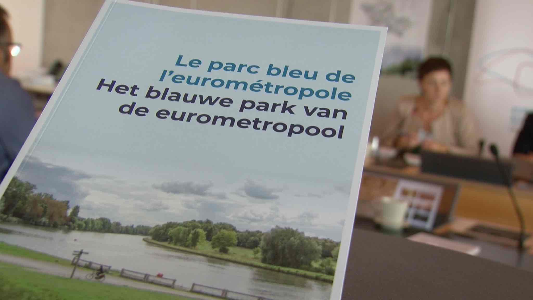 Un livre et un site pour découvrir le Parc bleu de l'Eurométropole