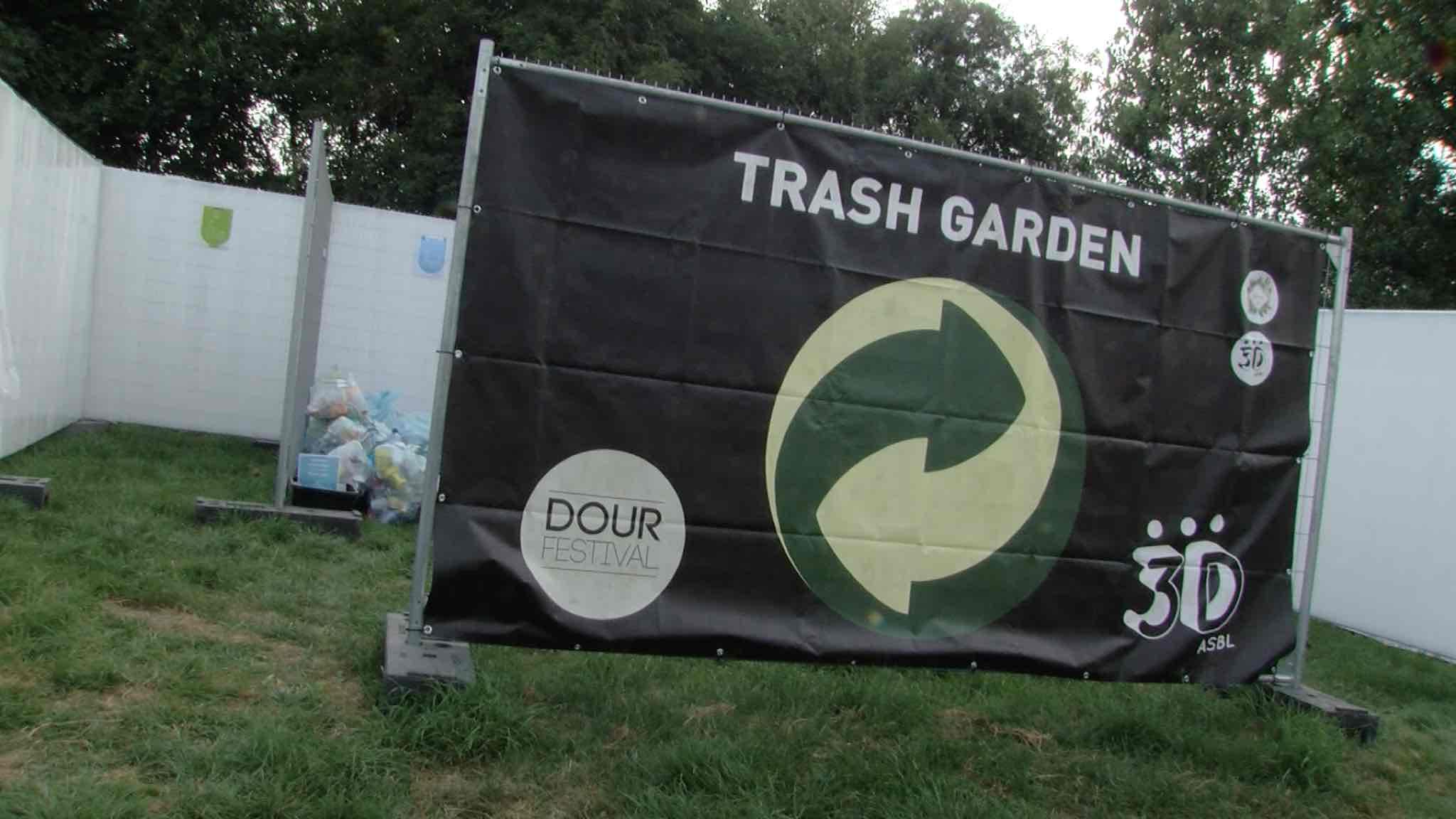La vie en vert de nos locaux au Green Camping du Festival de Dour