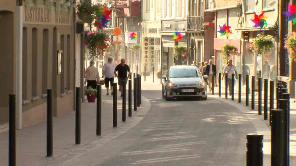 Les rues de Tournai et de Courtrai (enfin) rouvertes à la circulation