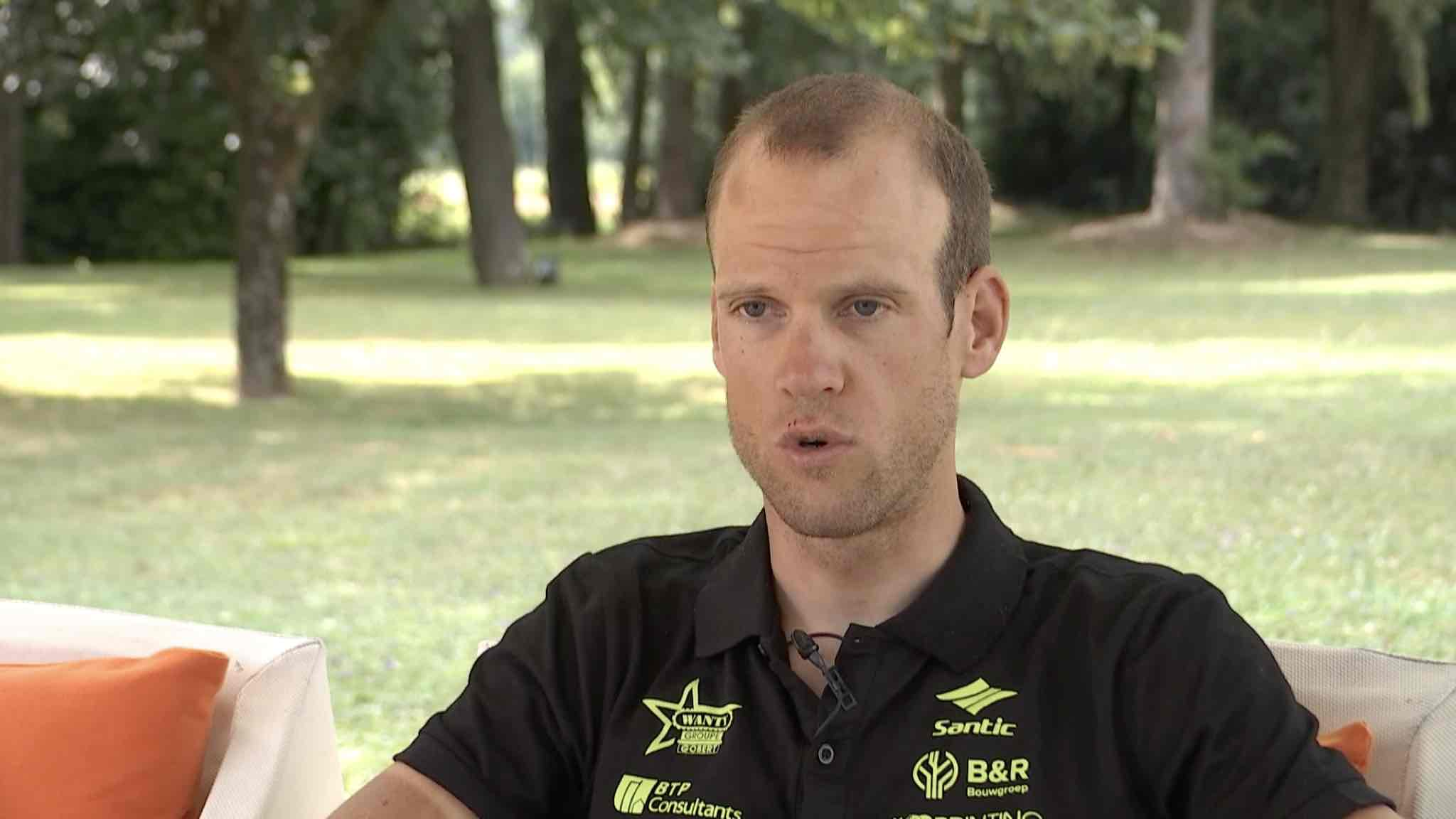 un bilan mitigé pour la première semaine de Thomas Degand sur le Tour de France