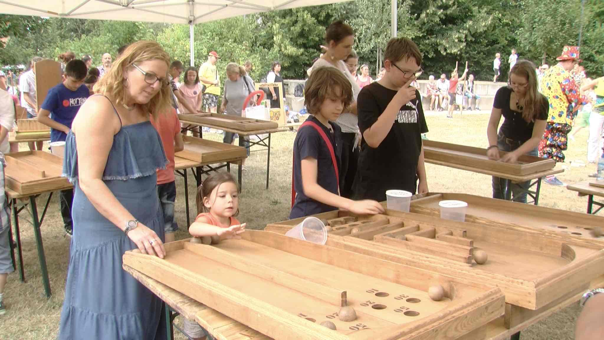 Le parc Posteau en fête pour le 21 juillet