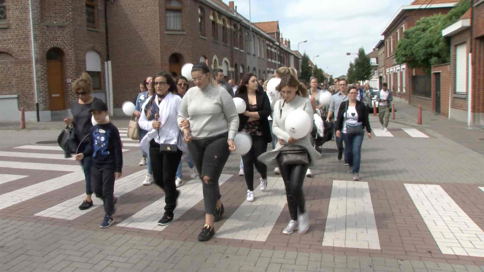 Plus de 200 Mouscronnois ont marché pour Féthi