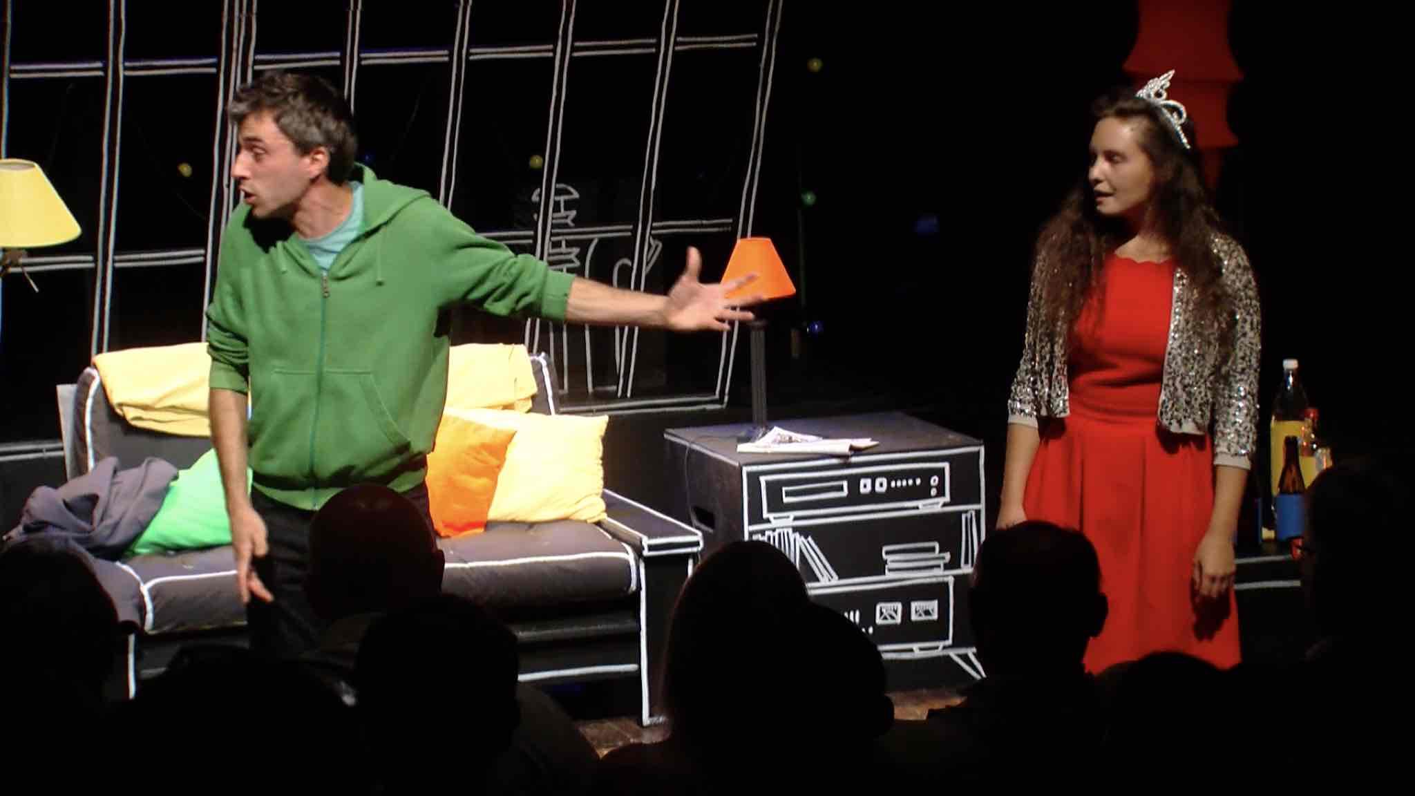 Spectacle d'ouverture sold-out au festival Théâtre au vert