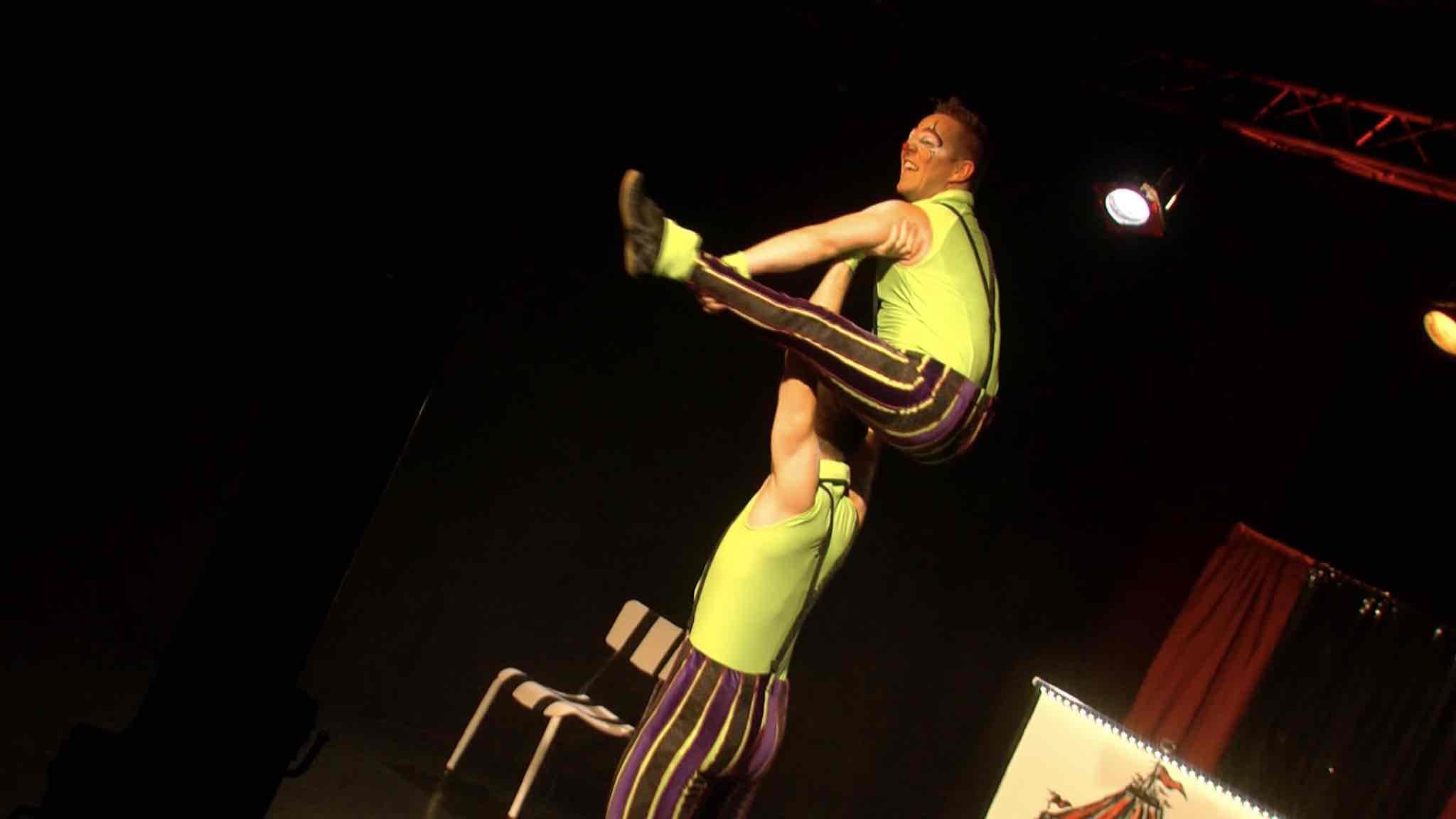 Nuit magique pour une quinzaine d'enfants au Théâtre au vert