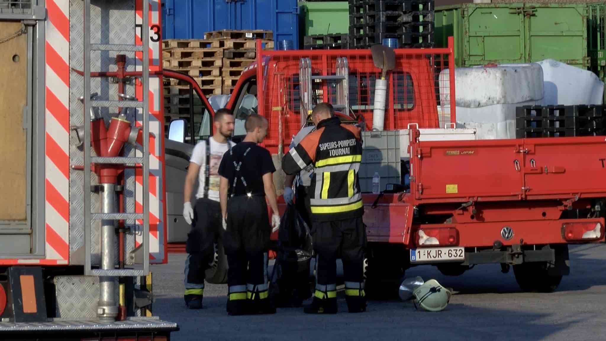 Intoxication de 4 travailleurs dans l'entreprise Rémi Tack