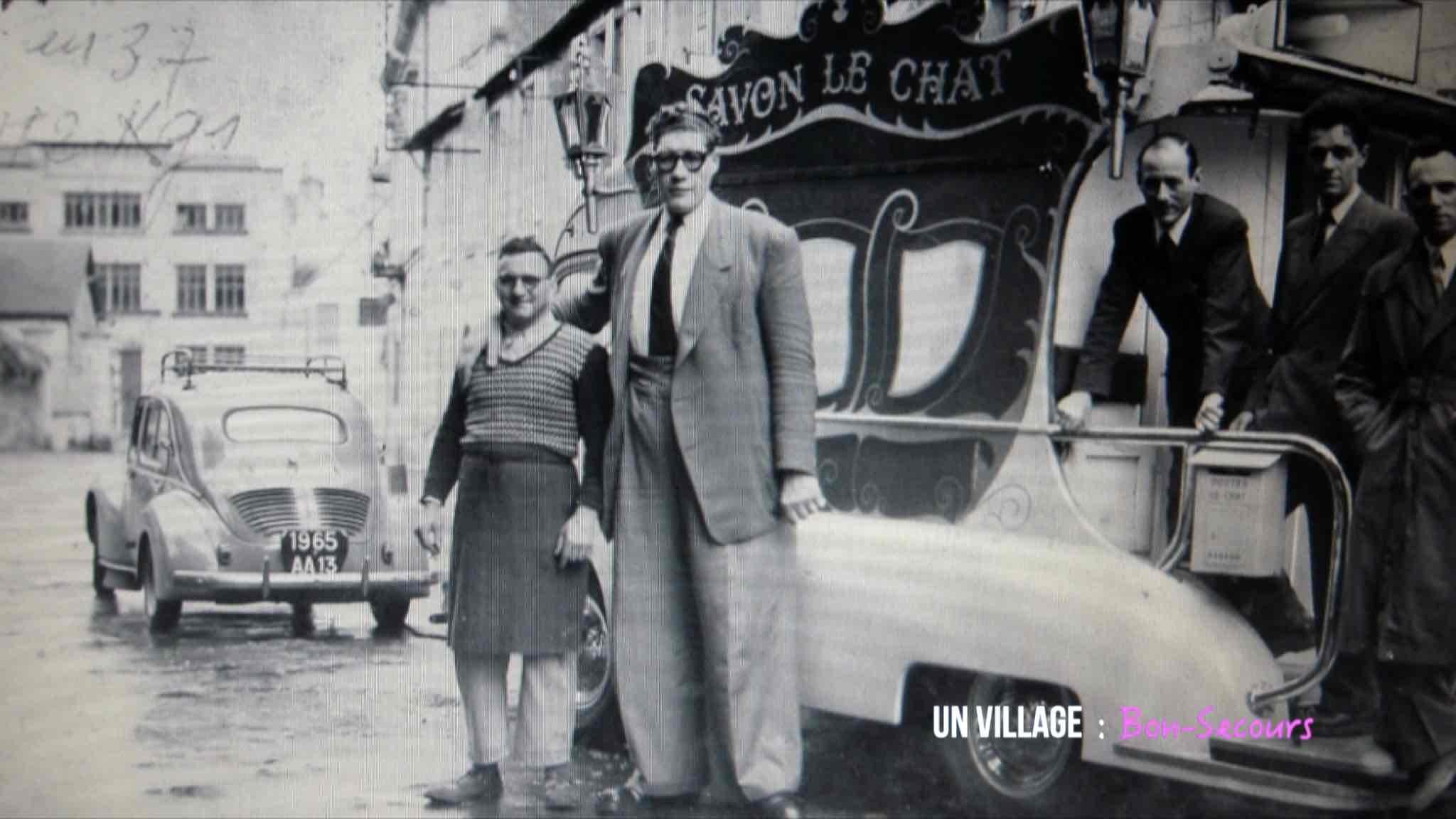 """Du """"petit Fernand"""" au """"géant Atlas"""""""