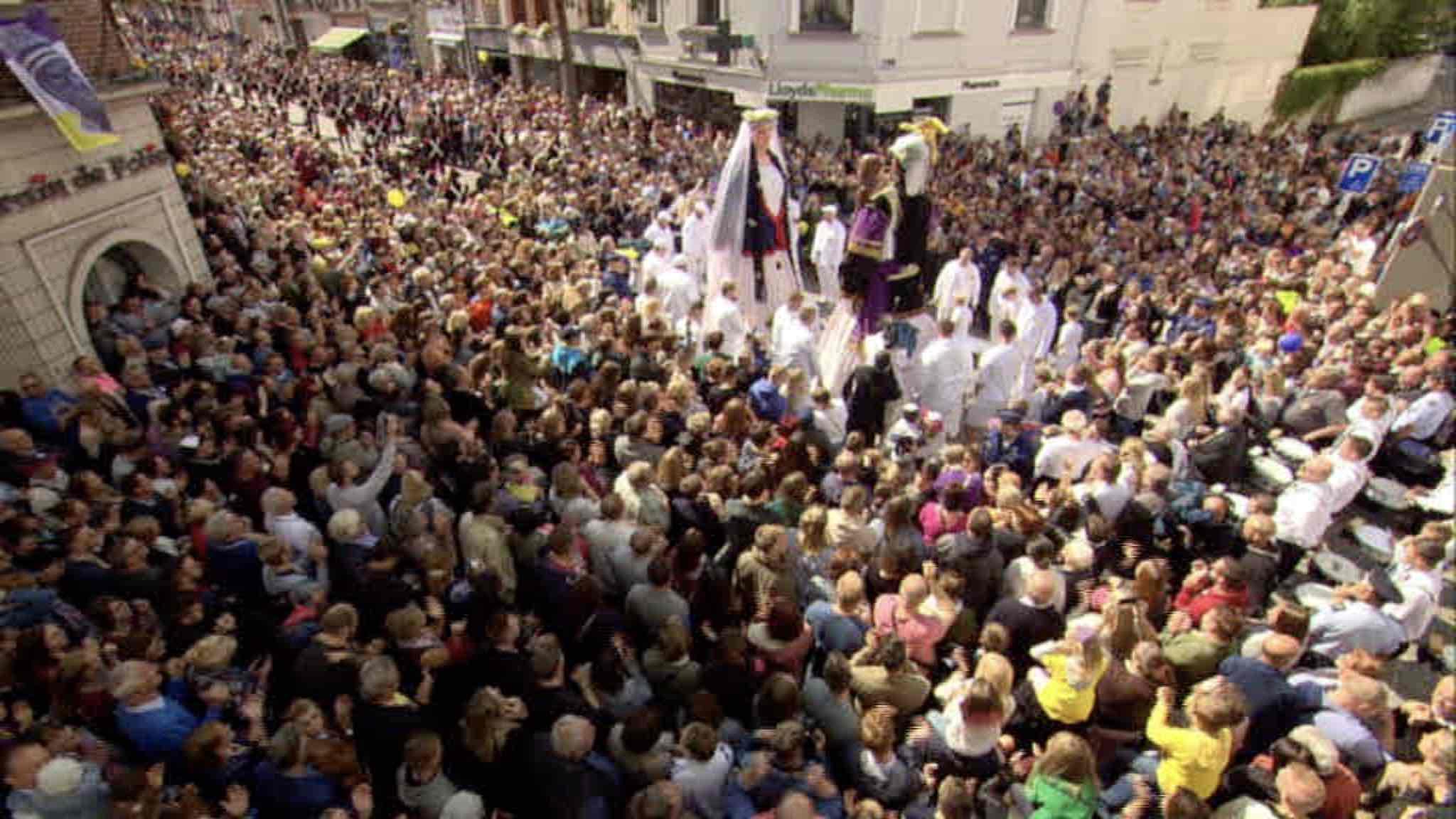 """""""Au coeur de la ducasse d'Ath"""" : le résumé de la fête"""