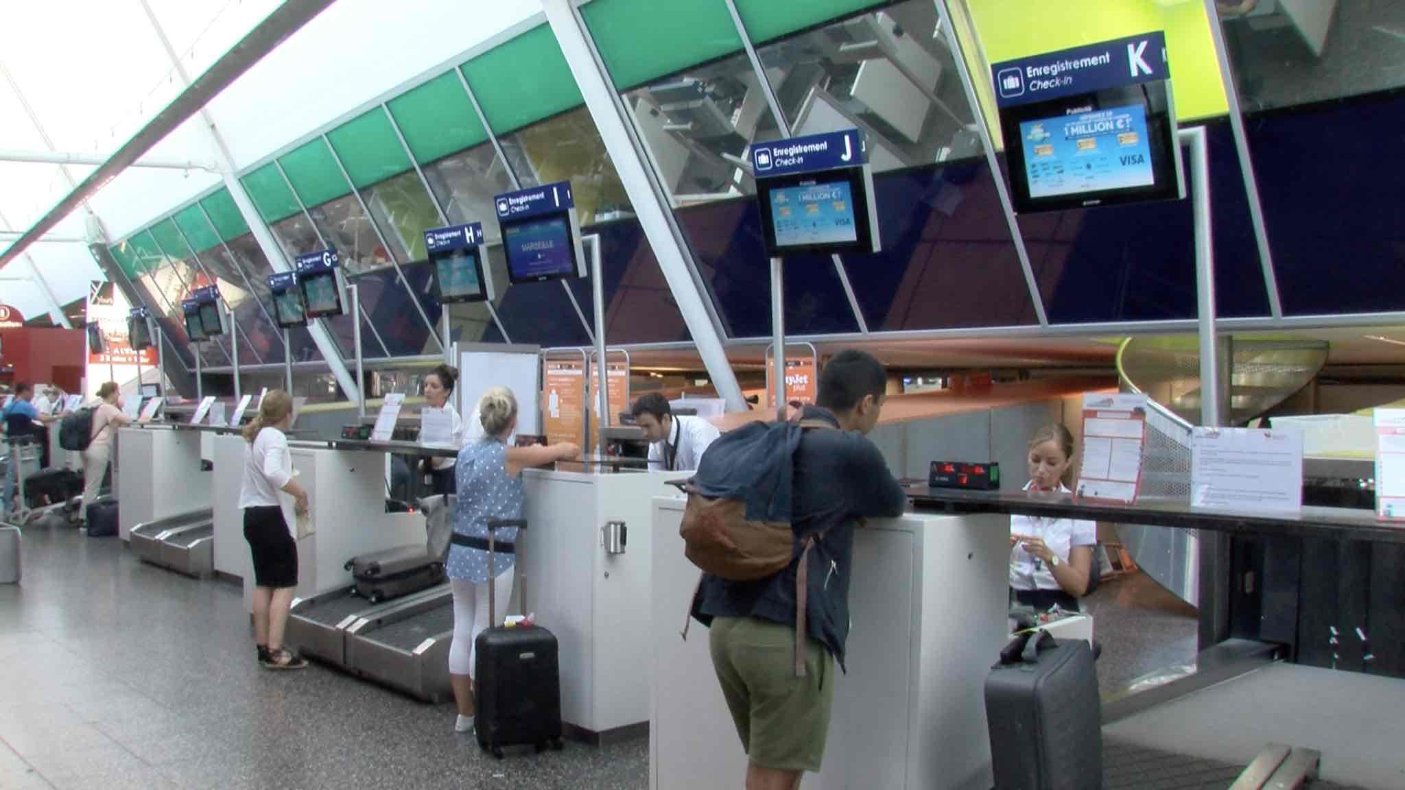 Aéroport de Lille: 8 voyageurs sur 100 sont belges