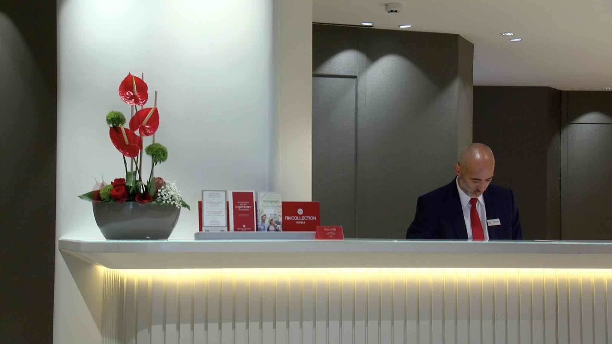 Des athois fleurissent des hôtels bruxellois