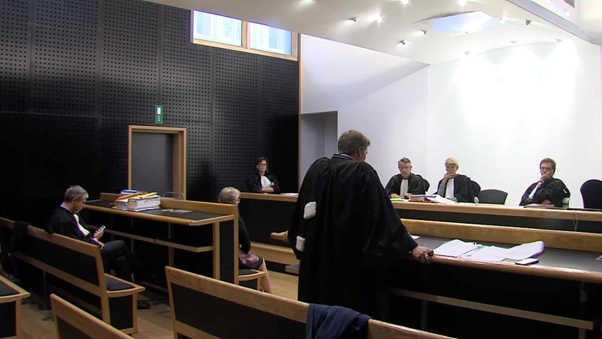Daniel Bernard devant la cour d'appel du Hainaut
