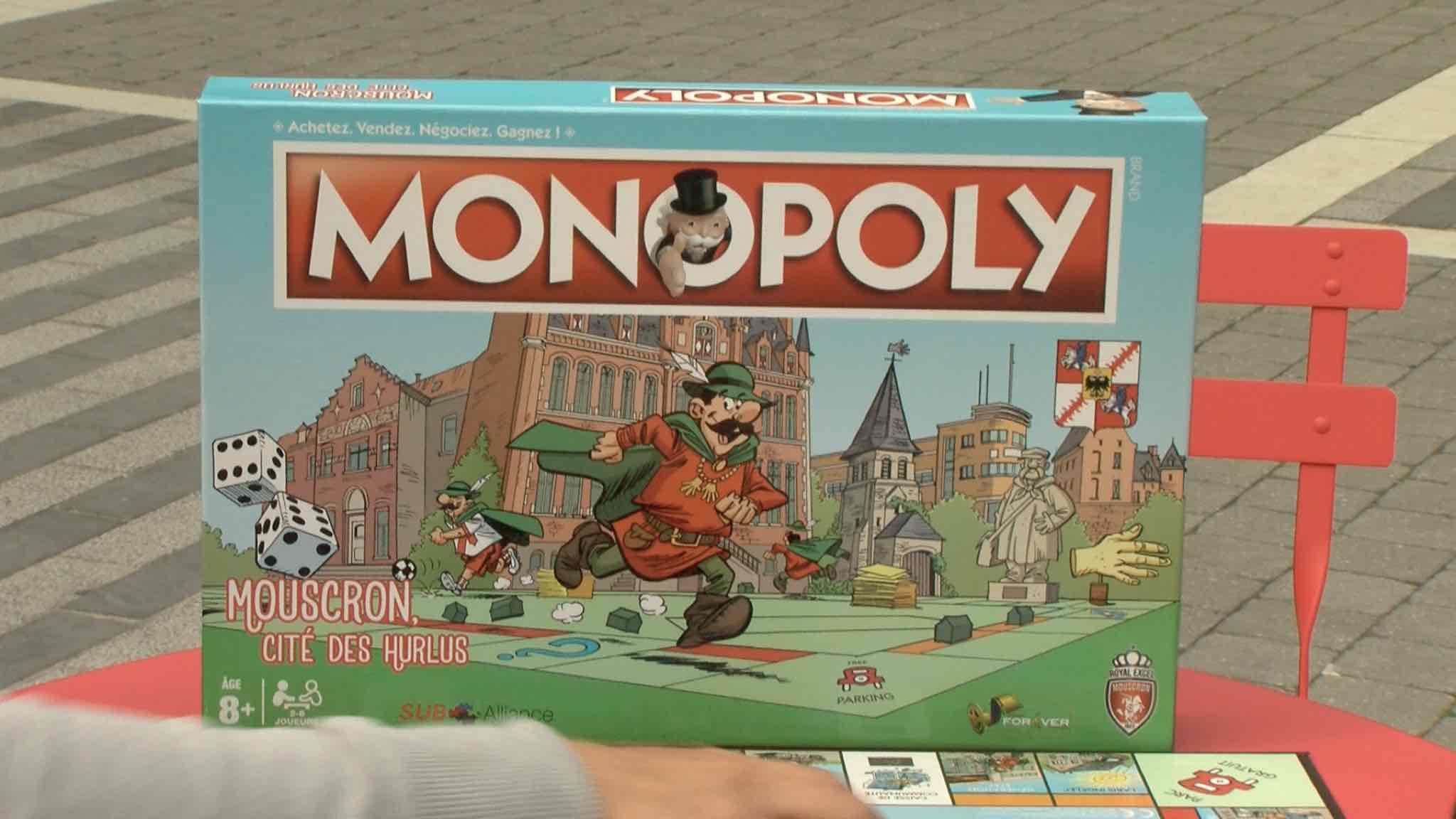 Le monopoly mouscronnois est arrivé...mais il n'y en aura pas pour tout le monde