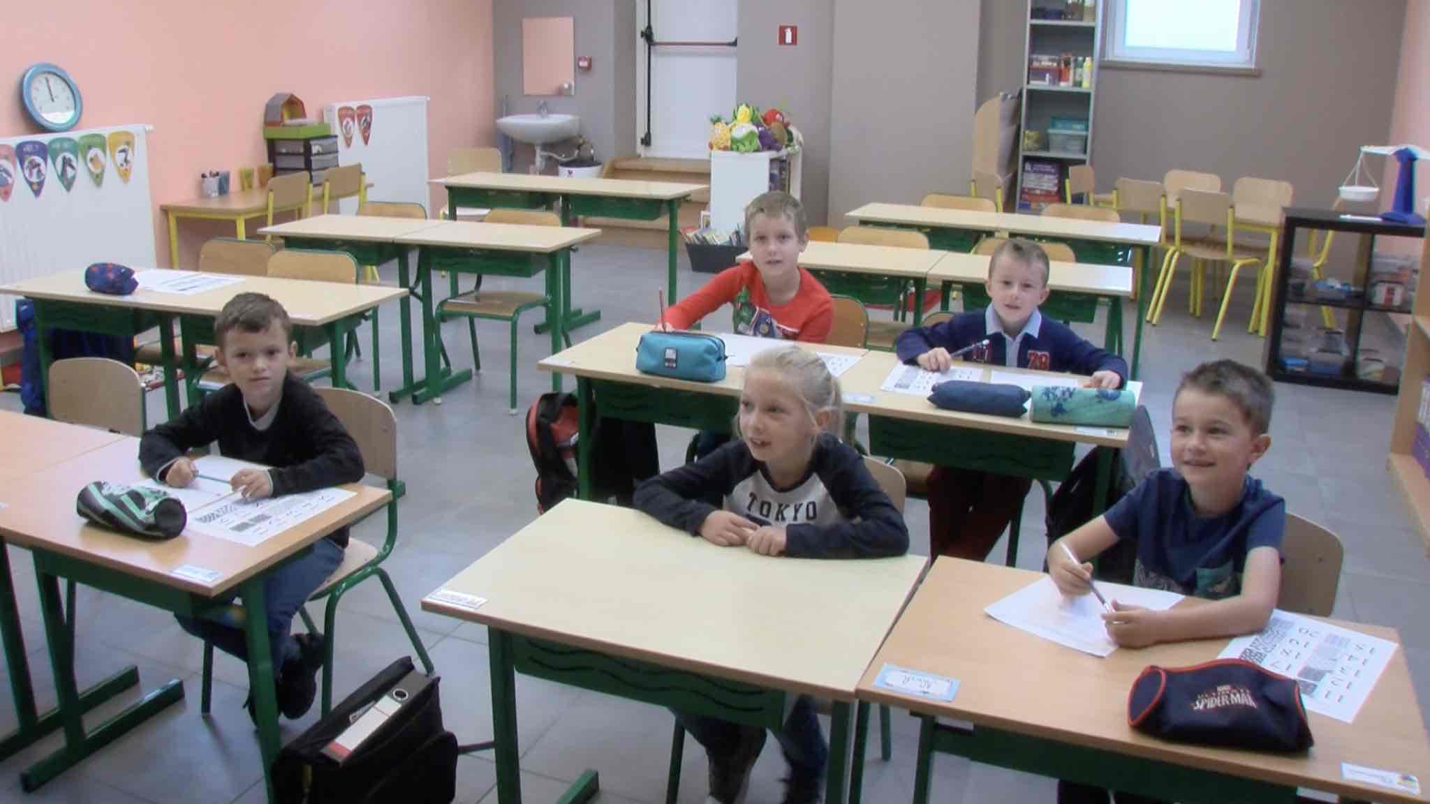 Un grenier transformé en trois nouvelles classes à l'école d'immersion de Guignies