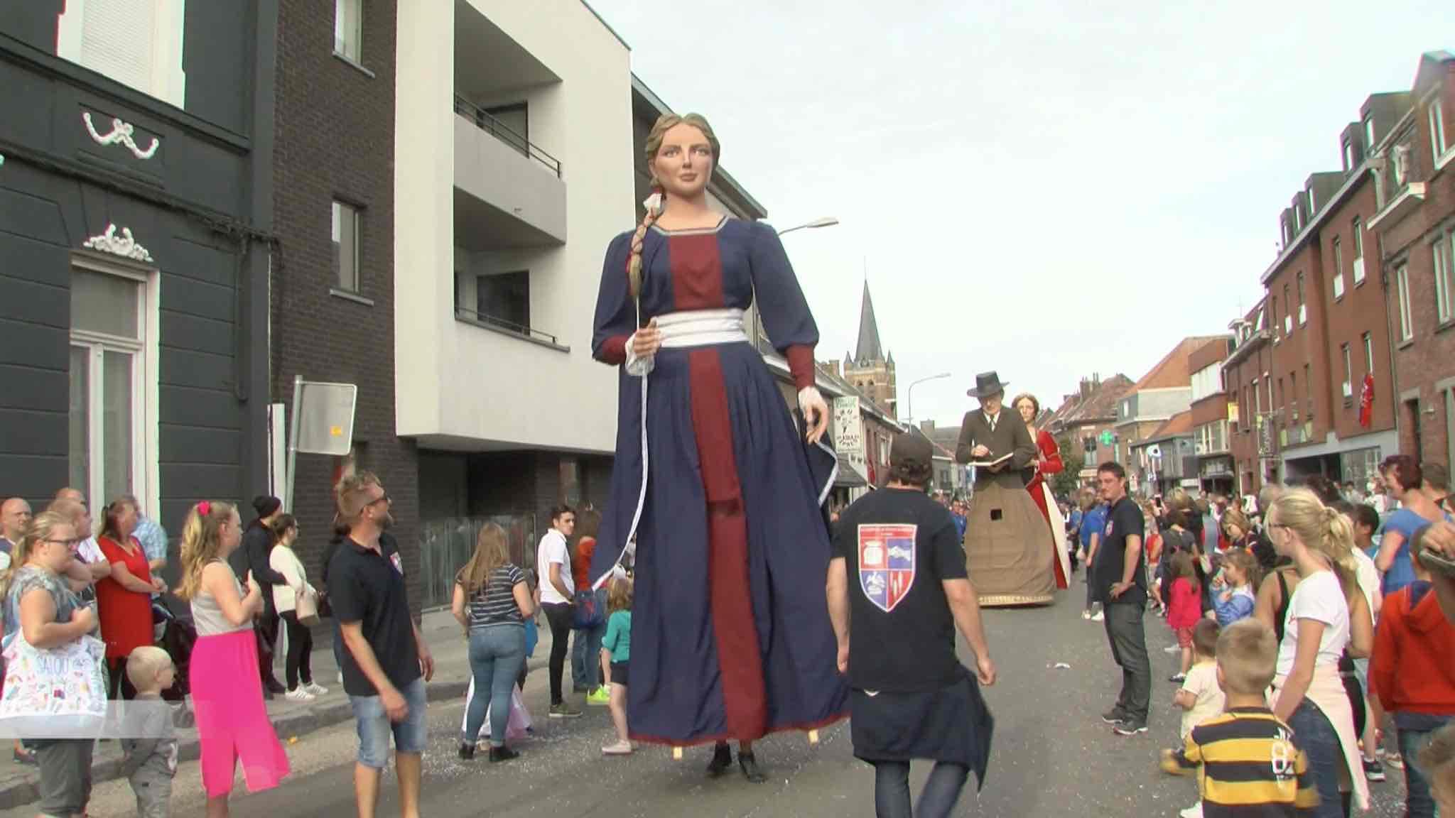 Christine Glorieux, nouvelle géante de Dottignies