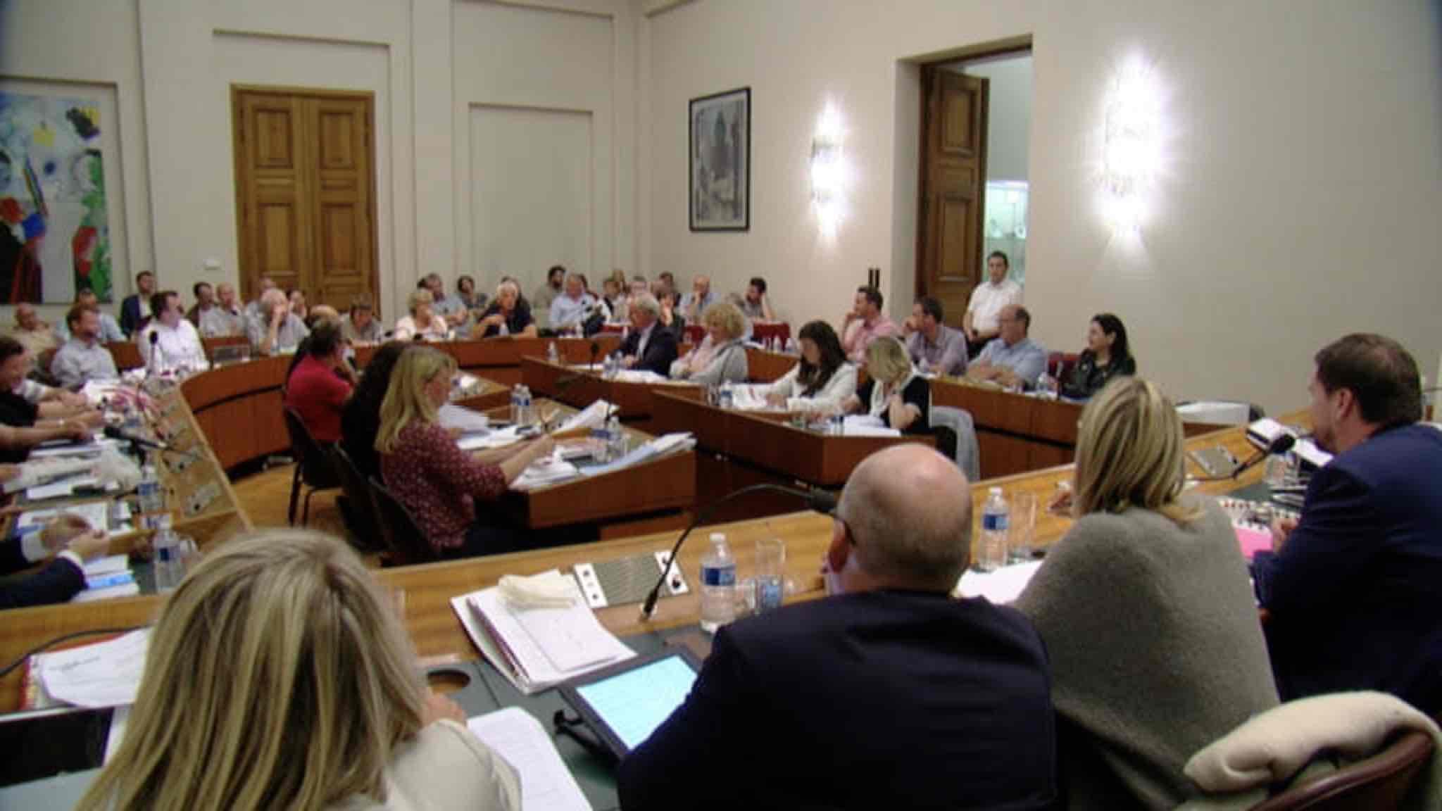 Conseil communal à Tournai