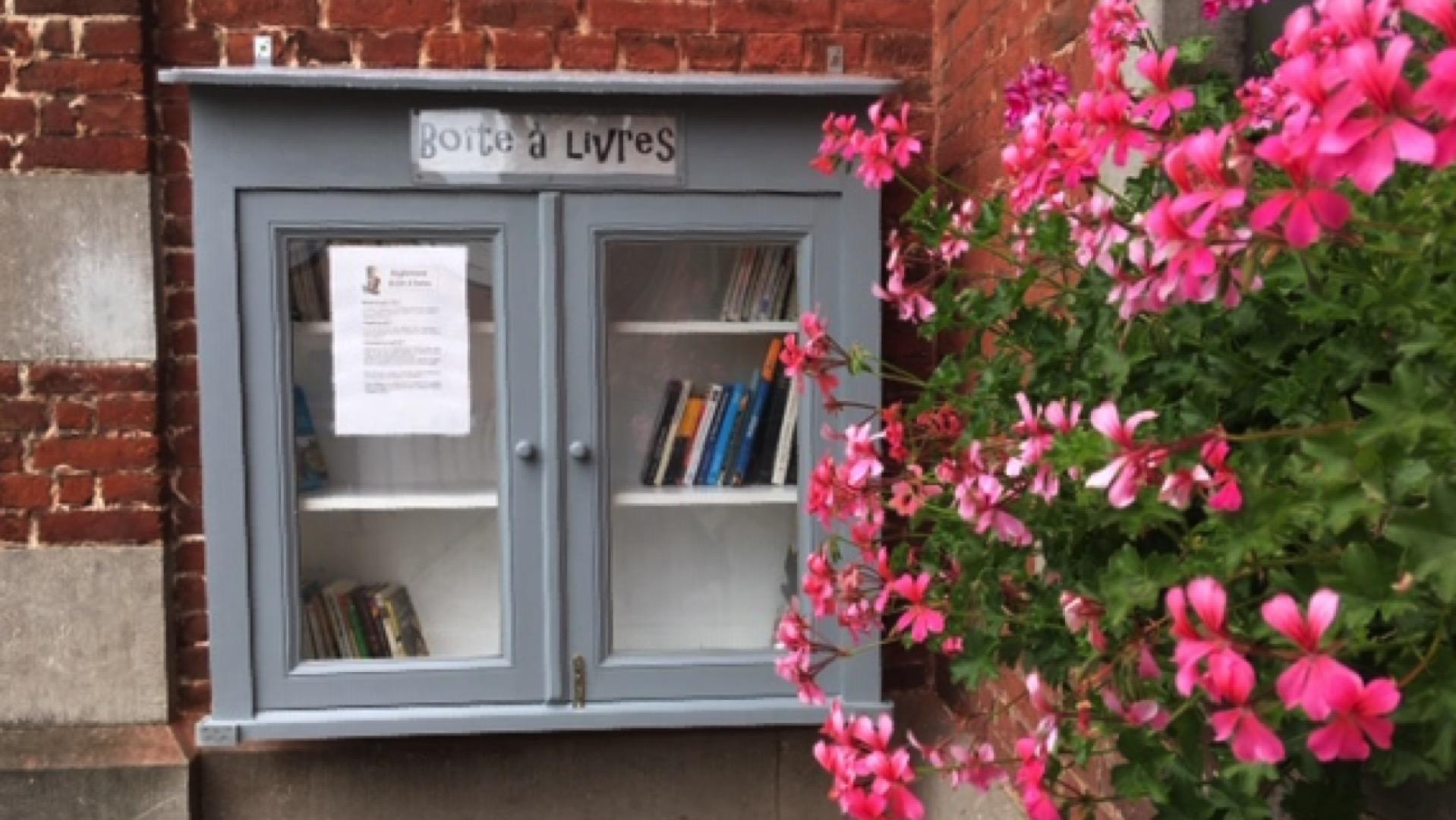 Boîte à livres- Ville-Pommeroeul