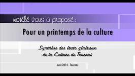 Synthèse des états généraux de la culture - 01/05/14